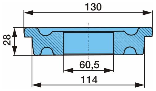 Втулка D60/114/130х28 03.113.06.11.0