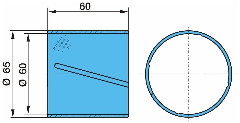 Втулка бронзовая на балансир 60/65-60 03.112.76.14.0